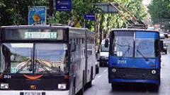 Броят пътниците в градския транспорт