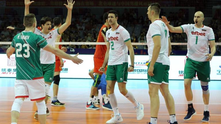 Част от звездите отнационалния отбор на България по волейбол за