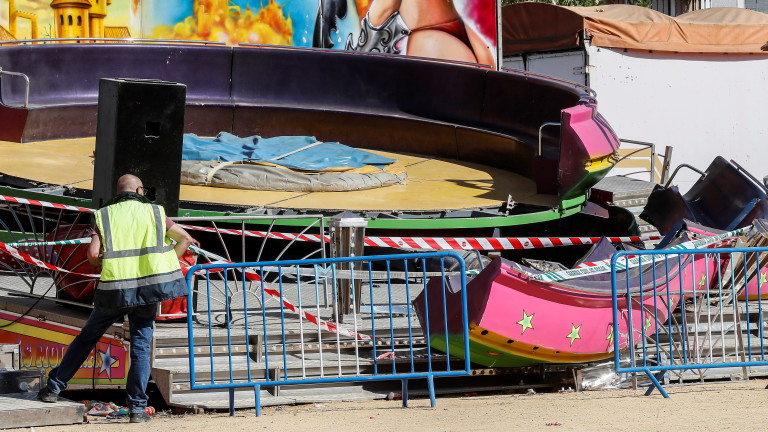 Най-малко 28 души са пострадали в испански увеселителен парк. Сред