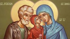 Почитаме успението на св. Анна