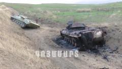 Десетки убити при продължаващите боеве в Нагорни Карабах