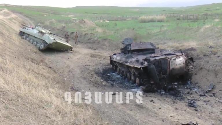 Най-малко 24 души са загинали при сблъсъците между Армения и