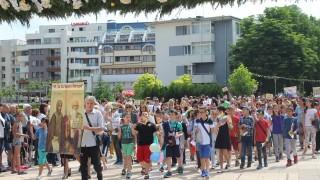 Километрично шествие в Ямбол за 24 май