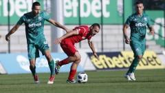 Ботев (Вр) - Витоша 3:0, развой на мача по минути