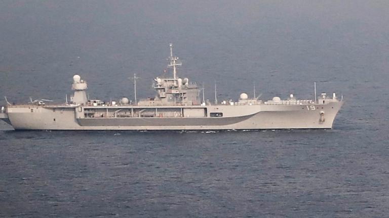 Американският флот засилва присъствието си в Егейско море, за гарантиране