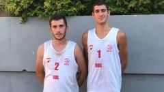 Георги Стоянов и Кристиян Петков със сребро от Балканиада по плажен волейбол