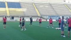 ЦСКА тренира пред погледа на Гриша Ганчев, Евандро готов за игра