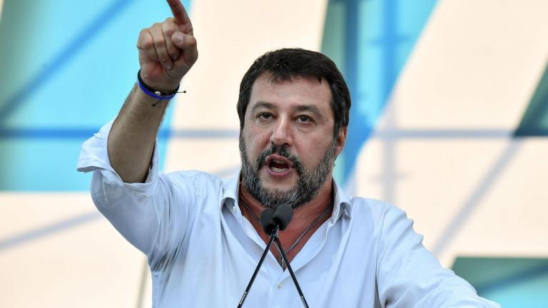 В италианския Сенат са против привличането на Матео Салвини под съдебна отговорност