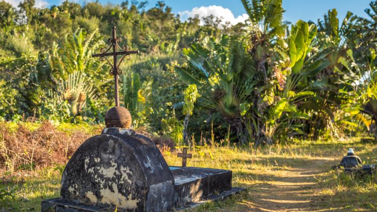 Къде се намира единственото в света пиратско гробище