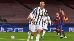 "Роналдо вкара две дузпи на ""Камп Ноу"", Ювентус финишира под номер едно в Група G"