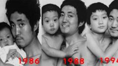 Трогателни снимки на баща и син. Последната ще ви разплаче