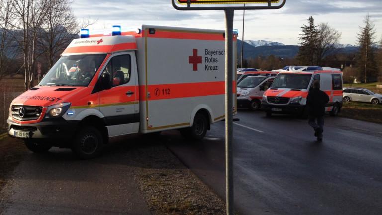 Българка и 11-месечно бебе са в болница след катастрофа в Германия