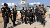 Иракските сили издигнаха националния флаг на църквата в освободен град