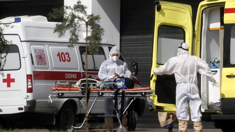 Около 5 000 починали от COVID-19 в Русия за шест дни