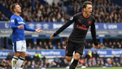 Арсенал разби Евертън за първи успех далеч от Лондон (ВИДЕО)