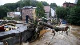 Над 100 загинали и над 1000 изчезнали от наводненията в Германия и Белгия