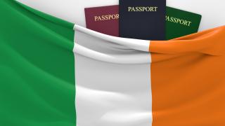 Голямата треска за ирландски паспорти