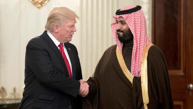 Престолонаследникът на Саудитска Арабия принц Мохамед бин Салман за първи
