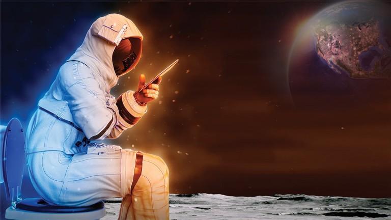 Голямата нужда на космонавтите