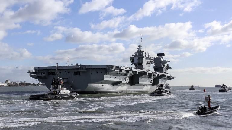 Великобритания може да увеличи военното си присъствие в Азия и