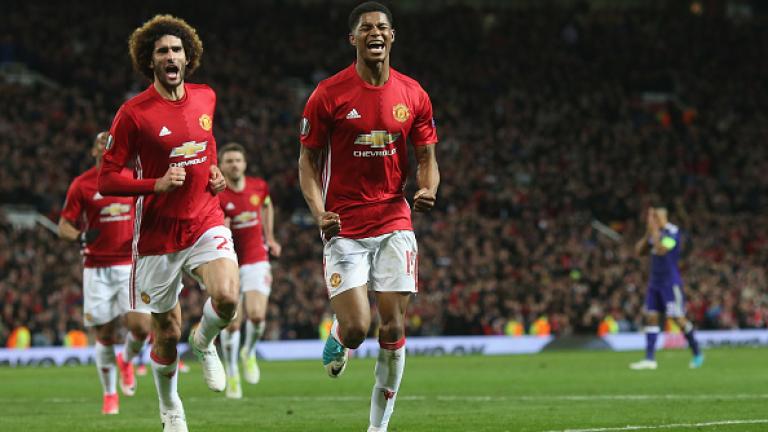 """Манчестър Юнайтед е на полуфинал в Лига Европа след инфарктен 120-минутен мач на """"Олд Трафорд""""!"""