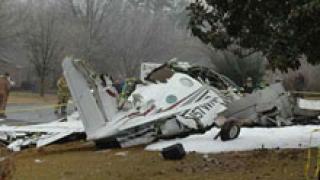 Малък самолет се разби край Минск