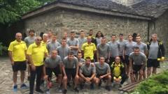 Футболистите на Ботев (Пд) посетиха Батак