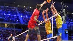 Бразилия обърна Русия в първия мач от финалната шестица на Световното по волейбол