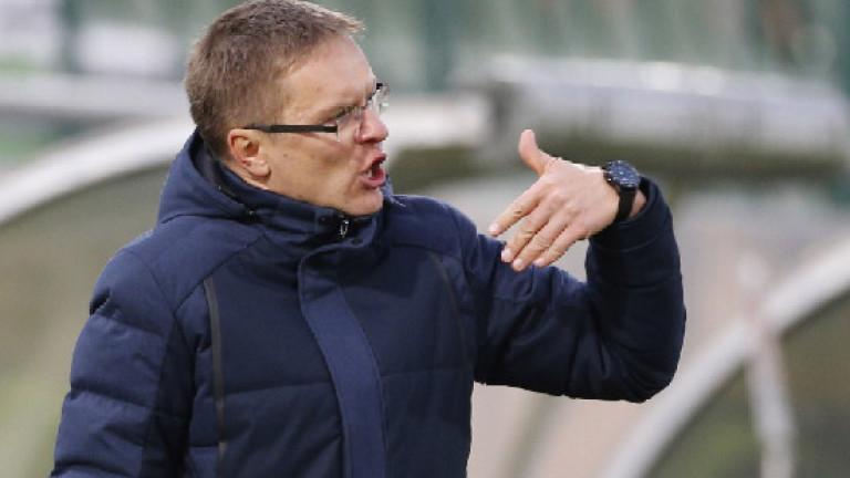 Дамбраускас: Мога само да се уча от Акрапович, добре анализирах ЦСКА