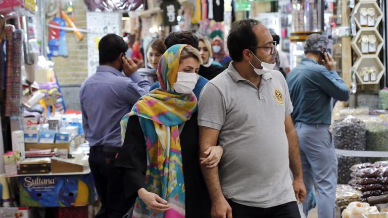 COVID-19: Иран счупи рекорда си за заразени в рамките на 24 часа
