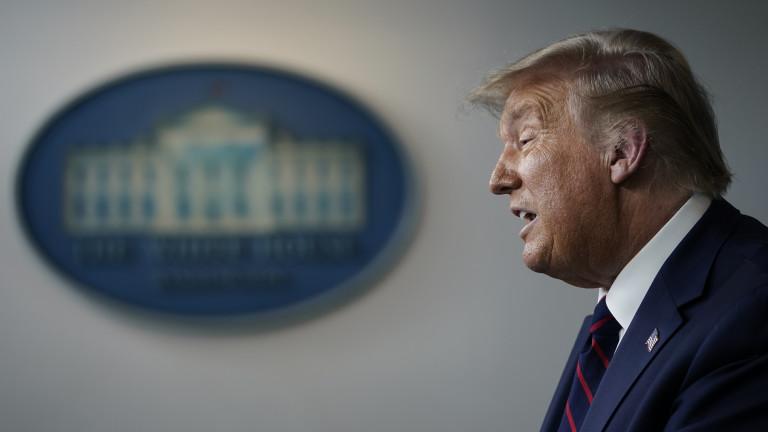 Президентът на САЩ Доналд Тръмп обеща, че замрази едностранно данъците