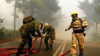"""Гърция откри """"сезона на пожарите"""""""