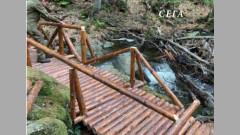 Вандали потрошиха нов мост на Витоша