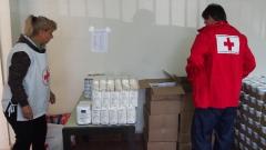 БЧК раздава храната от програмата на ЕС