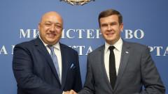 Красен Кралев се срещна с кандидата за президент на Световната антидопингова агенция Витолд Банка