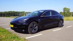 Защитният режим на Tesla в действие