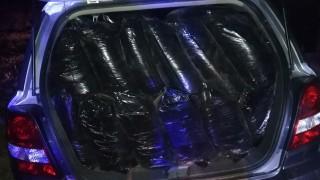 Задържаха 40 чувала с незаконен тютюн в автомобил
