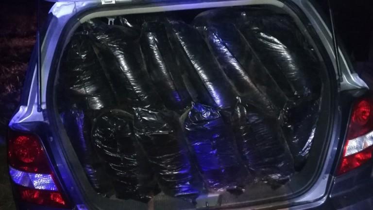 Полицията в Стара Загора задържа 400 кг нелегален тютюн, съобщиха