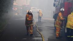 Пожар избухна в мол в Азербайджан