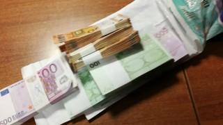 """Хванаха грузинец със 100 000 контрабандни евро на """"Дунав мост"""" - Видин"""