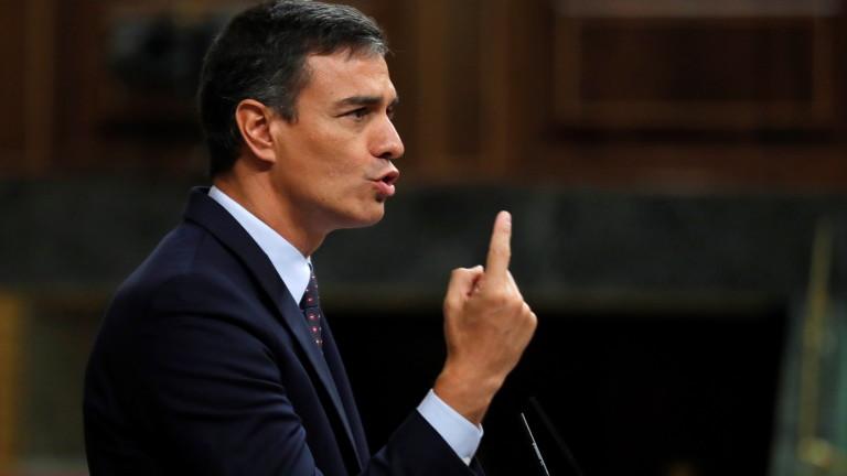 Изпълняващият длъжността премиер на Испания Педро Санчес отхвърли последното предложение