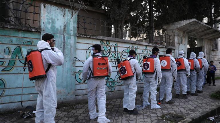 След продължили няколко седмици отричания на режима в Дамаск, Сирия