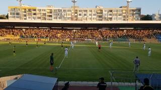 Ботев - Партизани 1:0 (Развой на срещата по минути)