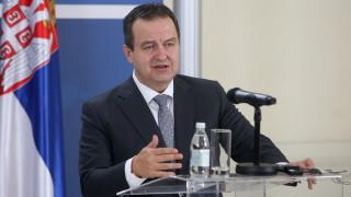 Дачич: Сърбите са против членство в НАТО