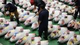 Известният рибен пазар в Токио заработи на ново място