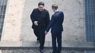 Историческо стъпване на Ким Чен-ун в Южна Корея
