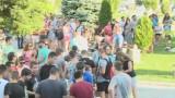 Протест и в Бяла срещу цигани биячи