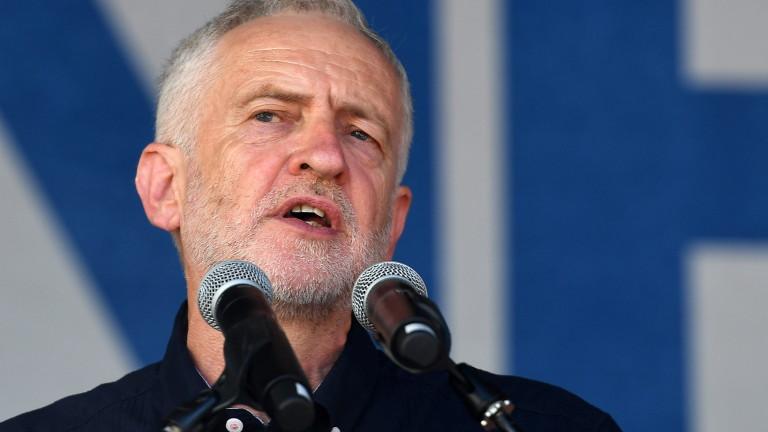 Израелският премиер Бенямин Нетаняху и лидерът на опозицията във Великобритания