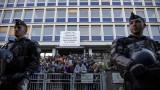 Френската полиция разтури мигрантски лагер в Париж