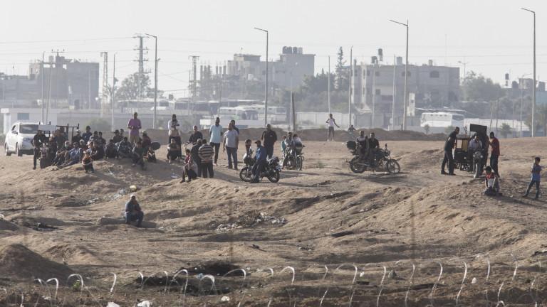 Израелската армия отвори единствената търговска връзка с Ивицата Газа след